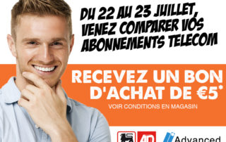 Advanced Business Solutions - Evenement comparatif abonnement AD Delhaize ghlin